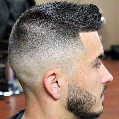 Mens Short Faux Hawk Fade - Best Short Hair Styles