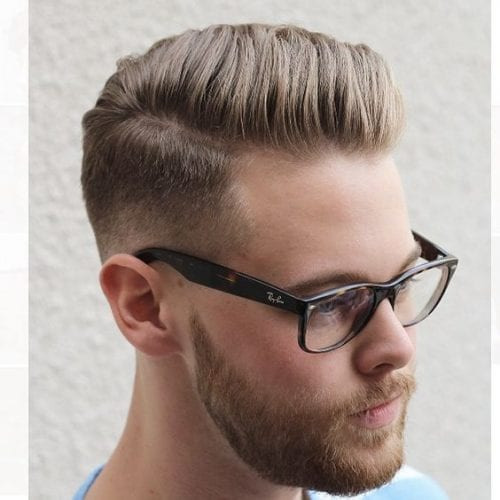 neat fade hairstyles for men