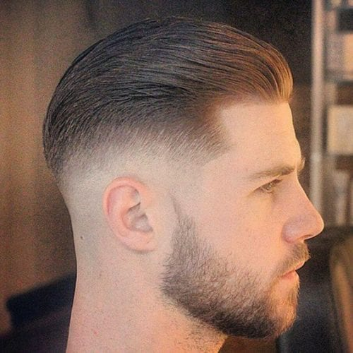 seamless fade hairstyles for men