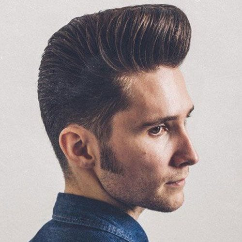timeless pomp hairstyles for men