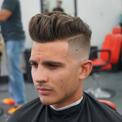 edgy fade hairstyles for men