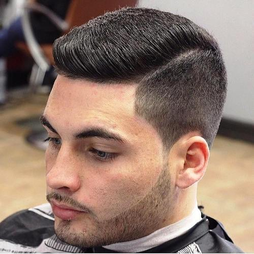 understated pomp hairstyles for men