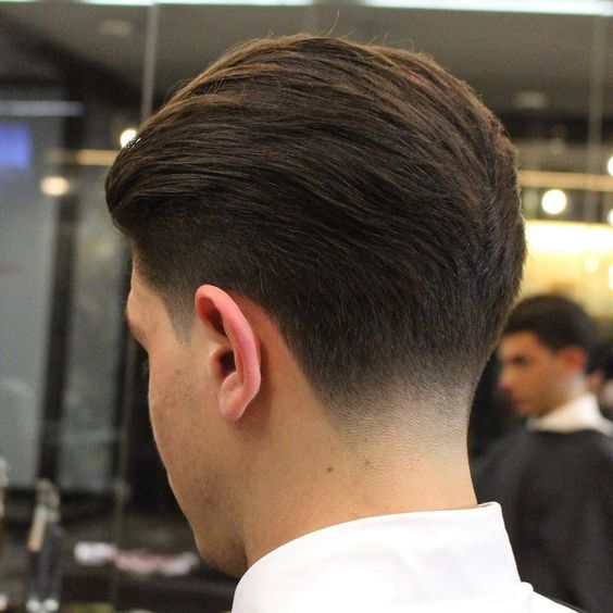 neck fade hairstyles for men