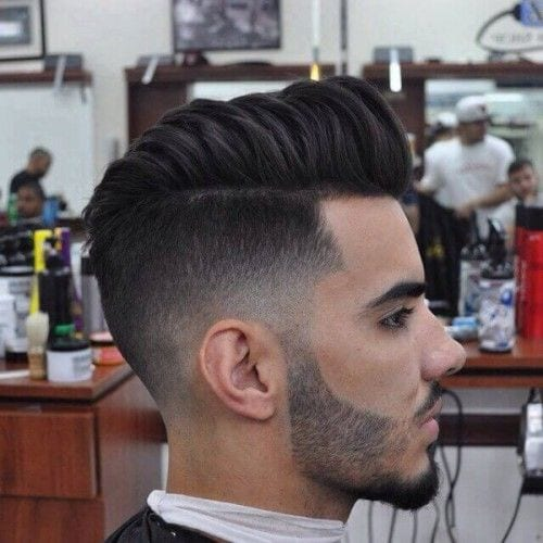 suave pomp hairstyles for men