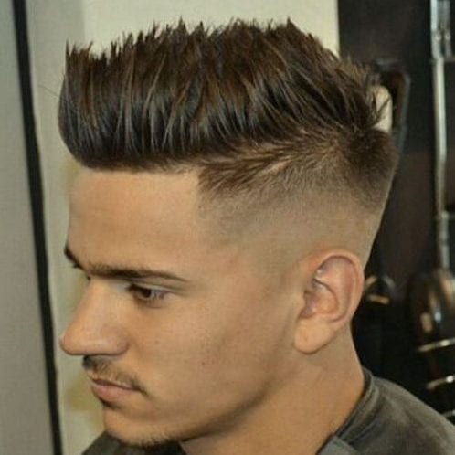 Undercut with Spikes Hairstyles