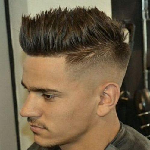 55 coolest short sides long top hairstyles for men  men