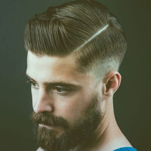 chunky fade hairstyles for men