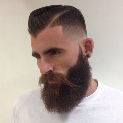 angular fade hairstyles for men