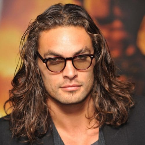 relaxed wavy long hairstyles for men