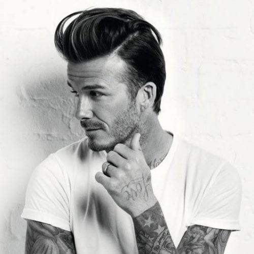 classic textured quiff - david beckham hairstyles for men