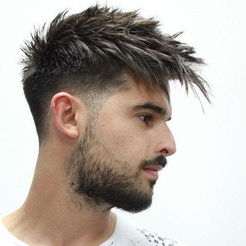 gradual fade hairstyles for men