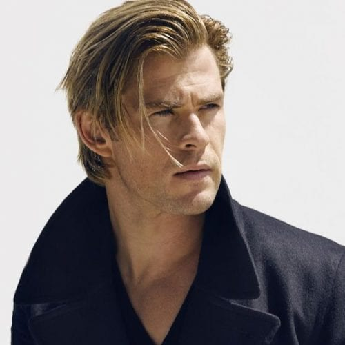 long fringe hairstyles for men - chris hemsworth hairstyle