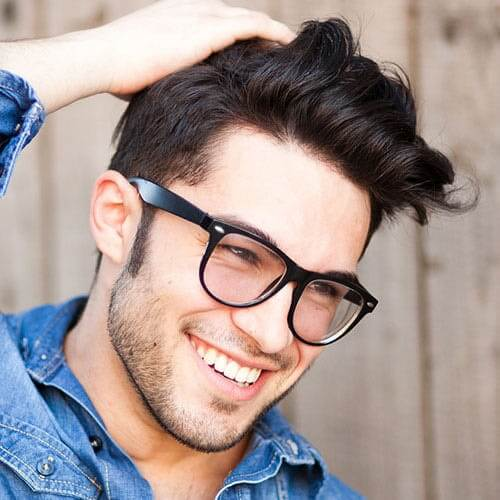 casual pomp hairstyles for men