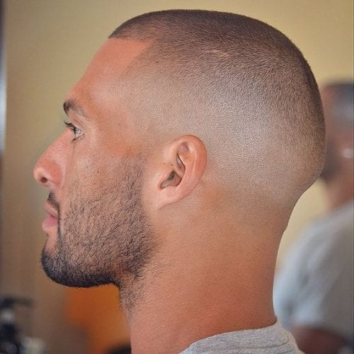 bare fade hairstyles for men
