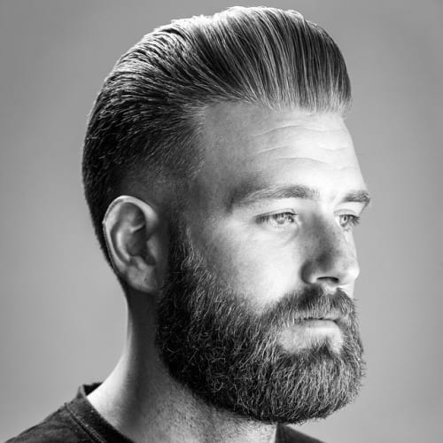 well kept pomp hairstyles for men