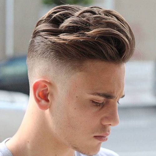 curly top fade hairstyles for men