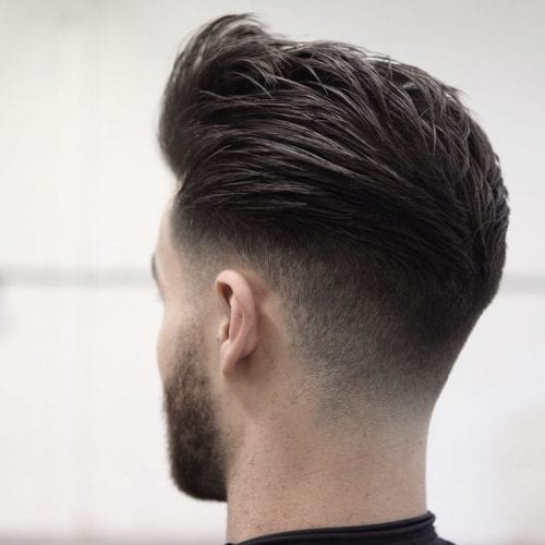 subtle fade hairstyles for men