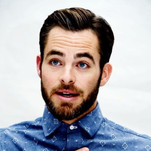 tight and neat formal hair - chris pine hairstyles for men