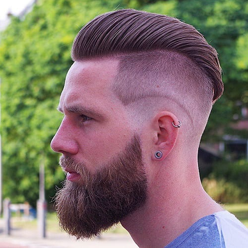 edgy undercut fade hairstyles for men