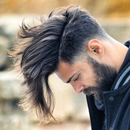 loose long pomp