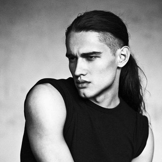 edgy undercut long hairstyles for men