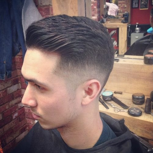 quiff fade hairstyles for men