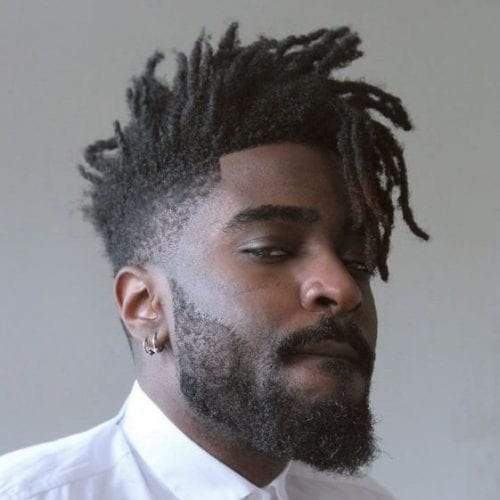 short loc fade hairstyles for men