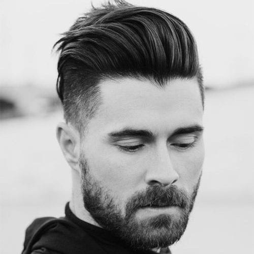 Quiff Short Sides Long Top Hairstyles For Thick Hair