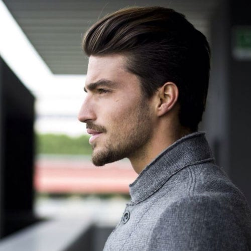 neatly done long hairstyles for men