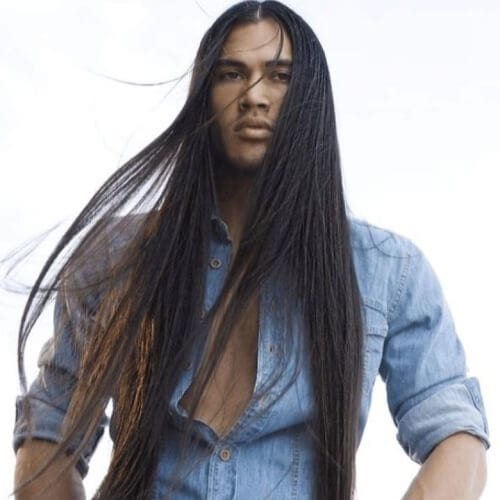 Extremely Long Hairstyles for Men