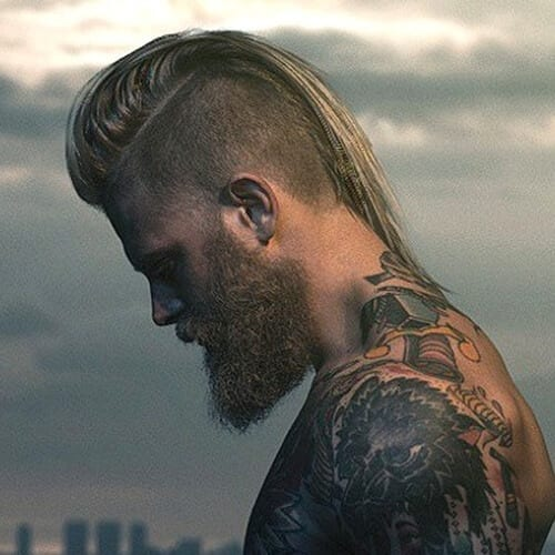 Edgy Mohawk Hairstyle for Men