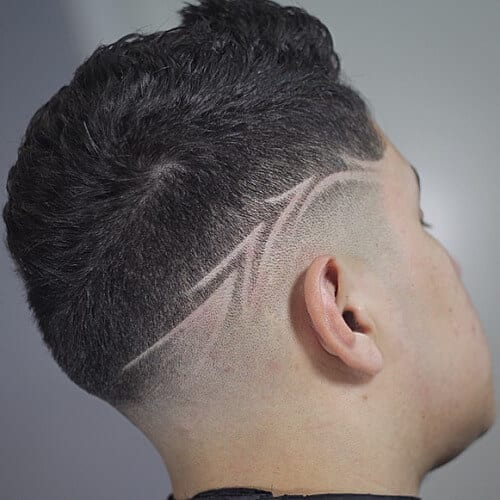 Haircuts for Men with Shaved Designs