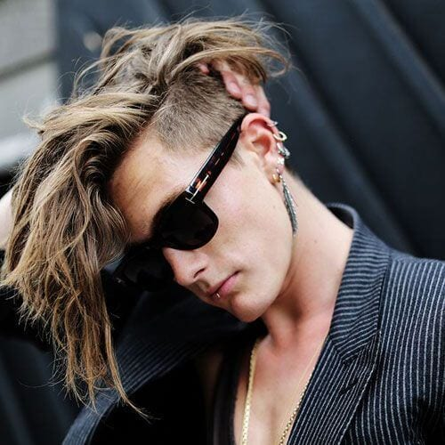 Long Mohawk Hairstyles for Men