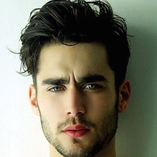 Messy Modern Hairstyles for Men