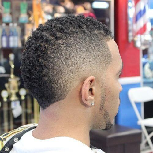 Mohawk Hairstyle for Black Men