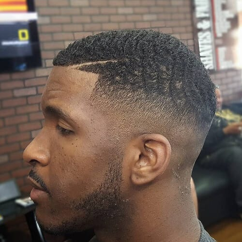 Mohawk Hairstyles for Black Men Short Hair