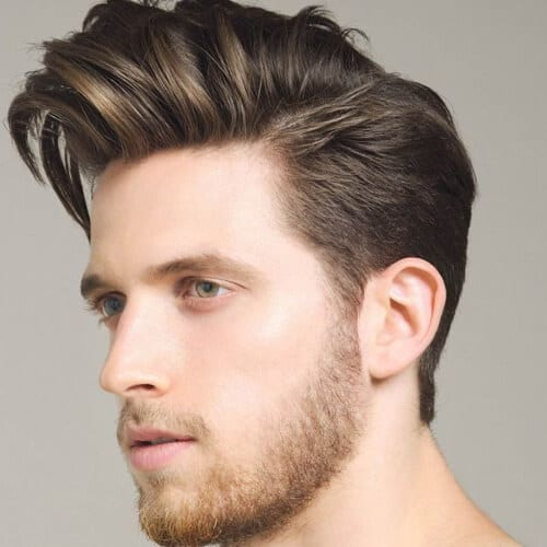 Pompadour Hairstyles