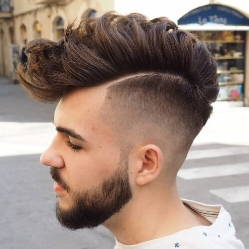 Sharply Styled Mohawk
