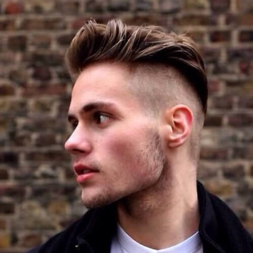 Shaved Mohawk Hairstyles for Men