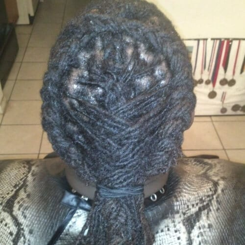 Braided and Fishbone Locs