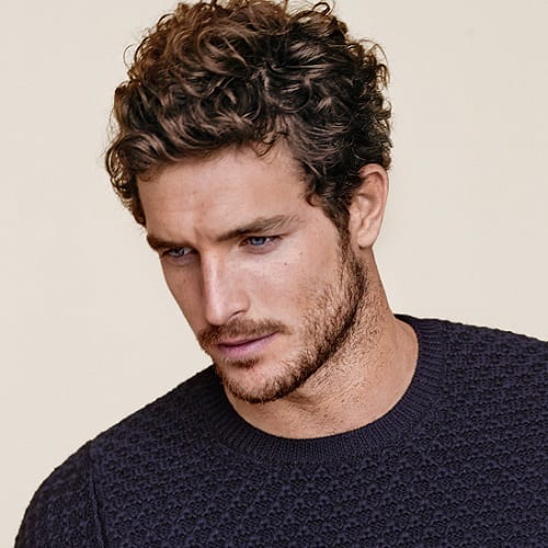 Casual Wavy Hairstyles for Men
