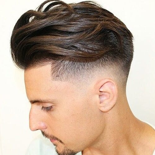 Comb Over Hairstyle for Wavy Hair