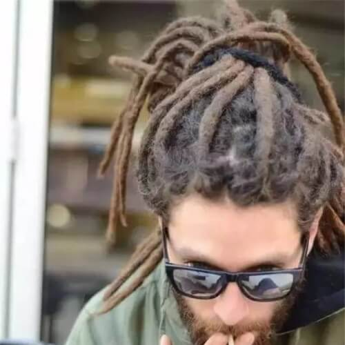 Dreadlock Styles for White Men