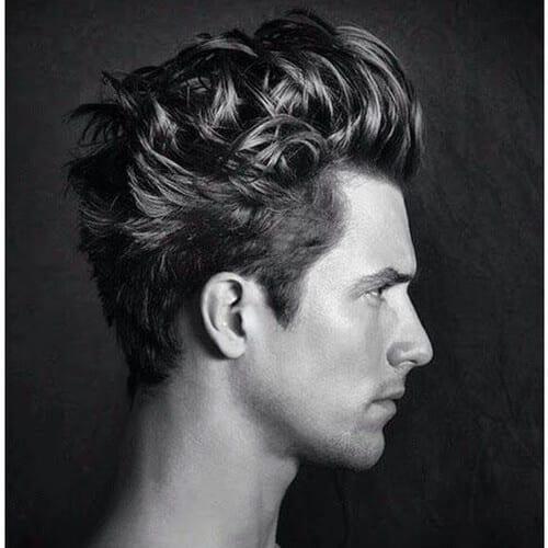 Dynamic Wavy Hairstyle