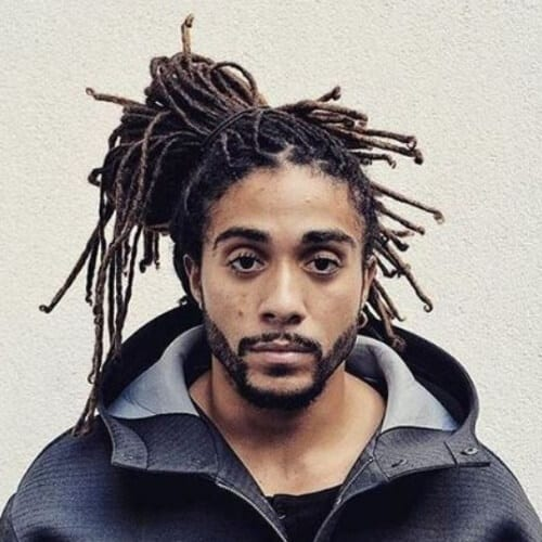 Easy Dreadlock Styles for Men