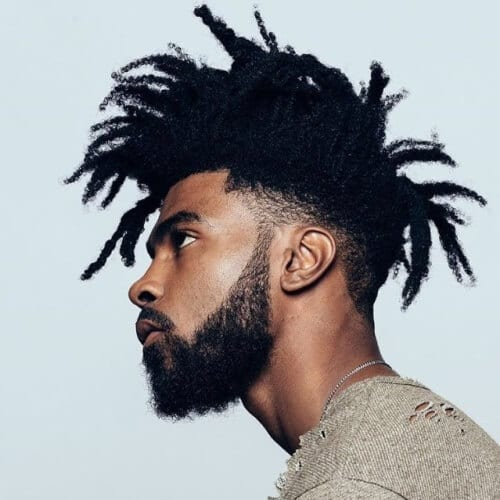 Edgy Afro-textured Hairstyles