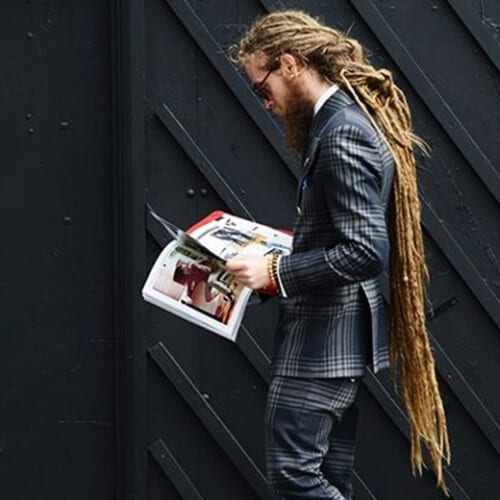 Extremely Long Dreads