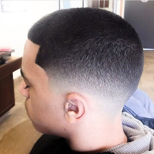 Fade Hairstyles for Black Men with Short Hair