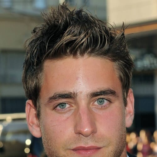 Perfect Faux Hawk Mens Hairstyles For Coarse Wavy Hair