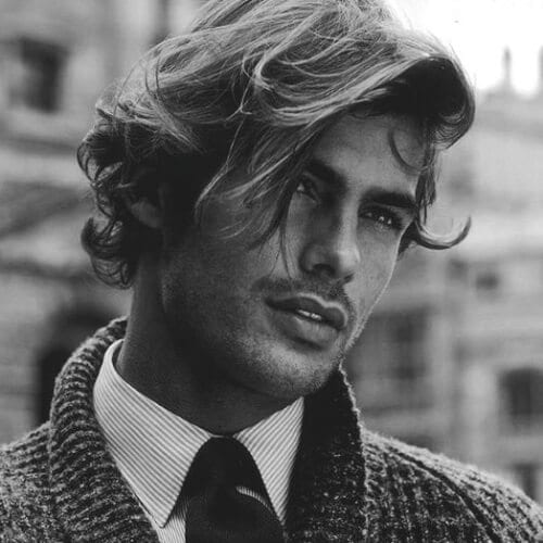 Handsome Hairstyles for Wavy Hair Men